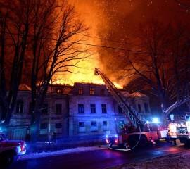 Při požáru bytu v Šumperku hrál hlavní roli požární hlásič