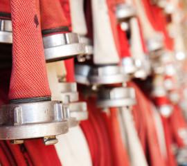 Včasná pomoc u požáru opět díky elektronickému hlásiči požárů.
